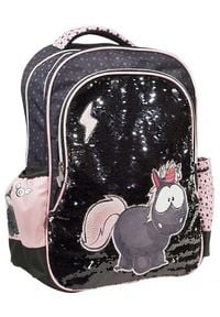 Back Me Up Plecak Nici Unicorn Carbon Flash. Styl: elegancki, retro