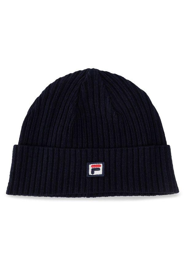 Niebieska czapka zimowa Fila