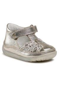 Złote sandały Naturino