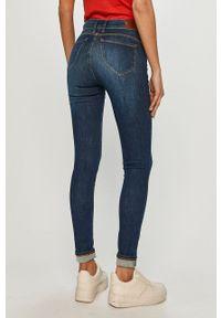 Pepe Jeans - Jeansy Zoe. Kolor: niebieski