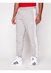 Szare spodnie dresowe adidas Originals