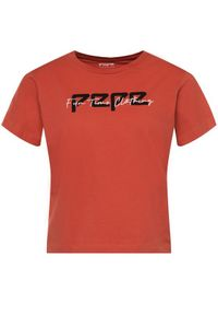 Pomarańczowy t-shirt Pepe Jeans