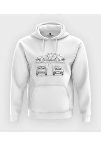 MegaKoszulki - Bluza z kapturem Porsche drawing. Typ kołnierza: kaptur