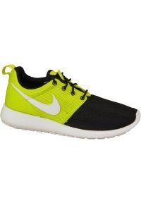 Zielone buty sportowe Nike z cholewką