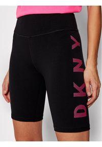Czarne spodenki sportowe DKNY Sport
