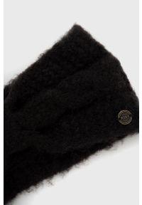 Roxy - Opaska. Kolor: czarny. Materiał: dzianina