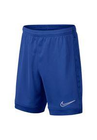 Spodenki Nike Academy Jr AO0771. Materiał: skóra, materiał. Technologia: Dri-Fit (Nike). Sport: piłka nożna