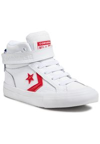 Converse Sneakersy Pro Blaze Strap Hi 670509C Biały. Kolor: biały