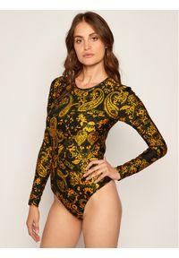 Bluzka body Versace Jeans Couture w kolorowe wzory