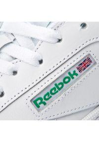 Białe sneakersy Reebok Reebok Club, z cholewką, na co dzień