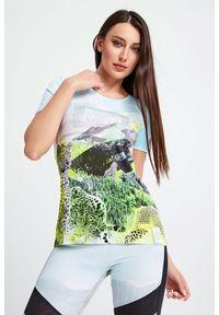 T-shirt Sportalm na co dzień, casualowy, z nadrukiem