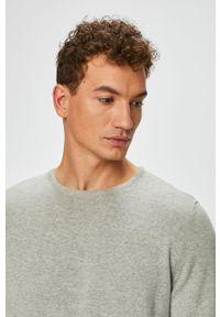 Szary sweter PRODUKT by Jack & Jones na co dzień, casualowy