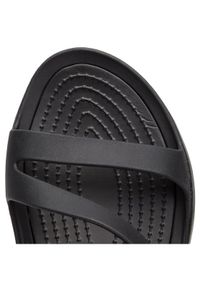 Crocs Klapki Swiftwater Sandal W 203998 Czarny. Kolor: czarny