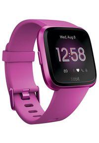 Fioletowy zegarek FITBIT smartwatch, elegancki