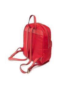 U.S. Polo Assn - Plecak U.S. POLO ASSN. - Houston S Backpack Bag BIUHU4924WIP400 Red. Kolor: czerwony. Materiał: skóra. Styl: elegancki, sportowy, casual