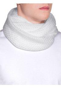 Biały szalik Ombre Clothing