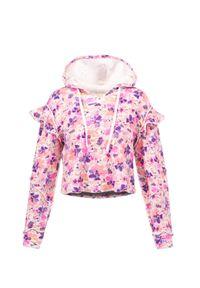 LoveShackFancy - Bluza LOVESHACKFANCY CIEL. Kolor: różowy. Materiał: bawełna. Wzór: nadruk, aplikacja. Sezon: lato