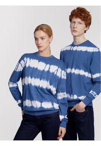 Niebieski sweter klasyczny Vistula