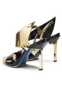 Złote sandały Loriblu