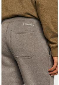 Szare spodnie dresowe columbia gładkie