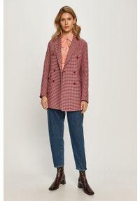 Fioletowy płaszcz MAX&Co. casualowy, na co dzień