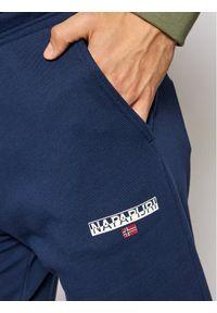 Napapijri Szorty sportowe N-Ice NP0A4F7B Granatowy Regular Fit. Kolor: niebieski