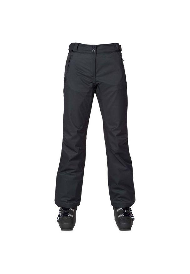Czarne spodnie narciarskie Rossignol