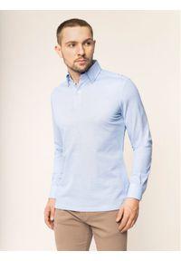 Niebieska koszulka polo Emanuel Berg polo