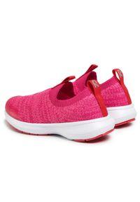 Reima - Sneakersy REIMA - Bouncing 569413 3600. Zapięcie: bez zapięcia. Kolor: różowy. Materiał: materiał. Szerokość cholewki: normalna
