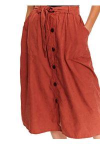 Czerwona spódnica TOP SECRET