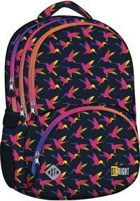 St. Majewski Plecak szkolny Tęczowe Ptaki
