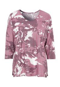 Różowy sweter Cellbes długi, z nadrukiem
