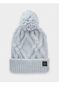 Niebieska czapka zimowa outhorn