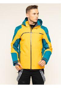 Pomarańczowa kurtka sportowa Spyder narciarska