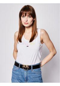 Biały top Tommy Jeans