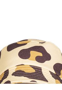 ROBERT KUPISZ - Żółty kapelusz NOW. Kolor: żółty. Materiał: bawełna. Wzór: aplikacja