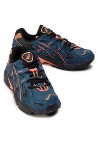 Niebieskie buty sportowe Asics na co dzień, z cholewką, Asics Gel Kayano