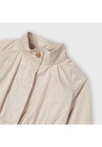 Beżowy płaszcz Mayoral