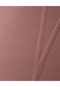 GIRLFRIEND COLLECTIVE - Różowe leginsy Rose 7/8. Stan: podwyższony. Kolor: różowy, wielokolorowy, fioletowy. Materiał: tkanina, materiał. Styl: sportowy, klasyczny