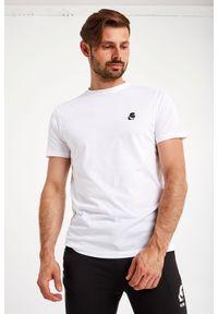 Karl Lagerfeld - T-SHIRT KARL LAGERFELD. Materiał: guma. Wzór: aplikacja
