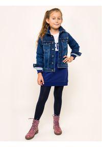 Niebieska sukienka Pepe Jeans prosta, casualowa, na co dzień