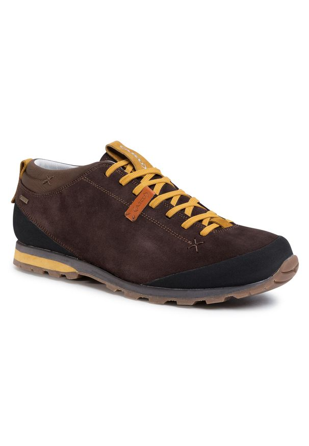 Brązowe buty trekkingowe Aku trekkingowe, Gore-Tex