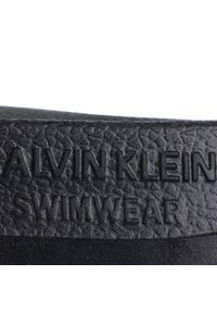 Czarne klapki Calvin Klein Swimwear casualowe, na co dzień