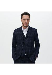 Niebieska kurtka Reserved elegancka