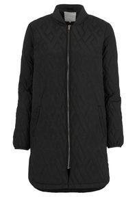 Soyaconcept Lekki płaszcz Fenya Czarny female czarny XL (44). Kolor: czarny. Materiał: prążkowany. Długość rękawa: długi rękaw. Długość: długie
