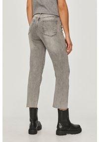 Szare proste jeansy Answear Lab wakacyjne, na co dzień