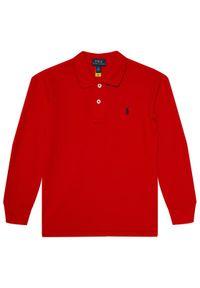Czerwony t-shirt polo Polo Ralph Lauren polo