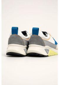 Wielokolorowe sneakersy Diesel na sznurówki, z cholewką
