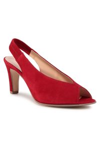Czerwone sandały Gabor klasyczne