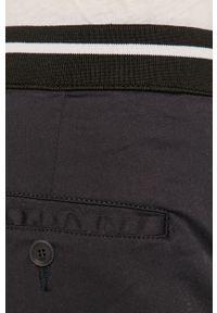 Niebieskie spodnie Karl Lagerfeld klasyczne, gładkie